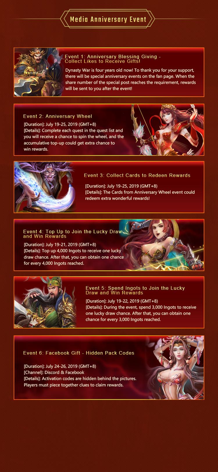 Dynasty War - Official Website